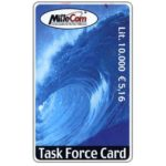The Phonecard Shop: MilleCom - Task Force Card, L. 10.000 / € 5,16