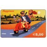 The Phonecard Shop: C3-Tele2 - Happiness, € 5,00