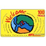 The Phonecard Shop: Telecom Italia - Welcome, 100 units / L. 25.000