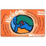 The Phonecard Shop: Telecom Italia - Welcome, L. 25.000 / € 12,91