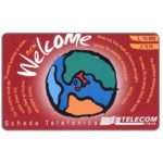 The Phonecard Shop: Italy, Telecom Italia - Welcome, L. 10.000 / € 5,16