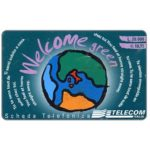 The Phonecard Shop: Italy, Telecom Italia - Welcome, L. 20.000 / € 10,33