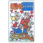 The Phonecard Shop: Italy, Cocco Bill, St. Valentine's day (promo card)