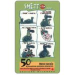The Phonecard Shop: C.F.N. - Smetto, Lega Italiana per la lotta contro i tumori (promo card)