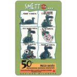 The Phonecard Shop: Italy, C.F.N. - Smetto, Lega Italiana per la lotta contro i tumori (promo card)