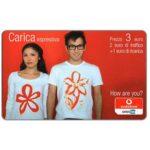 The Phonecard Shop: Italy, Vodafone Omnitel - Carica espressiva, 3 euro