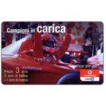 The Phonecard Shop: Italy, Vodafone Omnitel - Campioni in carica, 3 euro