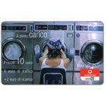 The Phonecard Shop: Italy, Vodafone Omnitel - A pieno carico, 10 euro