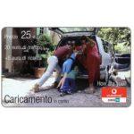 The Phonecard Shop: Italy, Vodafone Omnitel - Caricamento in corso, 25 euro