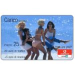 The Phonecard Shop: Italy, Vodafone Omnitel - Carico sospeso, 25 euro