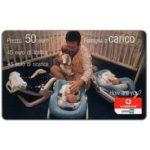 The Phonecard Shop: Italy, Vodafone Omnitel - Famiglia a carico, 50 euro