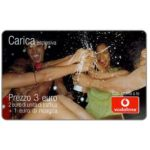 The Phonecard Shop: Italy, Vodafone - Carica esplosiva, 3 euro