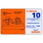 The Phonecard Shop: Italy, Wind - Altan, complimentary 10 units