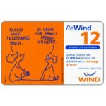 The Phonecard Shop: Italy, Wind - Pat, 12 units
