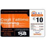 The Phonecard Shop: Wind - Cogli l'attimo Roaming, € 10
