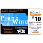 The Phonecard Shop: Italy, Wind - Pieno Wind, € 10