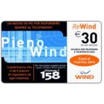 The Phonecard Shop: Italy, Wind - Pieno Wind, € 30