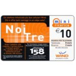 The Phonecard Shop: Italy, Wind - Noi Tre, € 10