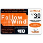 The Phonecard Shop: Italy, Wind - Follow Wind, € 30