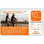 The Phonecard Shop: Italy, Wind - Wind Tandem & SMS, € 10