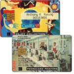 The Phonecard Shop: Docucards, Cardex 95 (specimen card)