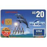 The Phonecard Shop: Australia, Sea World - Visa Cash, A$ 20 (cash card)
