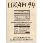 The Phonecard Shop: Likam 94, folder with 1 test card Autelca, 2 Landis & Gyr, 1 first issue from Liechtenstein