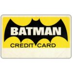 The Phonecard Shop: Batman Credit Card (memorabilia card)