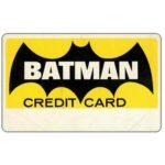 The Phonecard Shop: U.S.A., Batman Credit Card (memorabilia card)