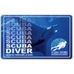 The Phonecard Shop: U.S.A., Scuba Diving International (certification card)