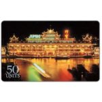 The Phonecard Shop: U.S.A., Sprint - Hong Kong, Jumbo Floating Restaurant, 50 units