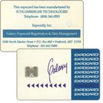 The Phonecard Shop: Schlumberger Galaxy expo card