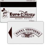 The Phonecard Shop: France, Euro Disney Resort Hotels, Hotel Cheyenne (hotel key card)