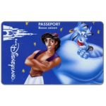 The Phonecard Shop: France, Aladdin, Passeport - Basse saison (Disneyland Paris ticket)
