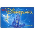 The Phonecard Shop: Trilly and castle, Passeport (Euro Disneyland ticket)