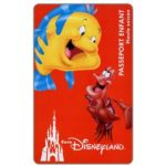 The Phonecard Shop: France, The Little Mermaid, Passeport Enfant - Haute saison (Euro Disneyland ticket)