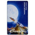 The Phonecard Shop: France, Space Mountain, Passeport Enfant - Haute saison (Disneyland Paris ticket)