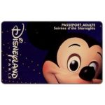 The Phonecard Shop: Mickey Mouse, Passeport Adulte - Soirées d'eté Starnights (Disneyland Paris ticket)
