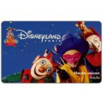The Phonecard Shop: France, 5th Anniversary, Haute saison Adulte (Disneyland Paris ticket)
