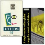 The Phonecard Shop: Schlumberger Telecom 95 Geneva demo card