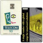 The Phonecard Shop: Switzerland, Schlumberger Telecom 95 Geneva demo card