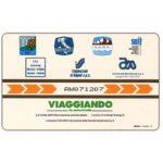 The Phonecard Shop: Italy, Viaggiando, L.50,000, Pikappa (Viacard)