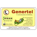 The Phonecard Shop: Italy, Genertel, L.50,000, Technicard (Viacard)