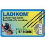 The Phonecard Shop: Italy, Ladikom, L.50,000, Pikappa (Viacard)