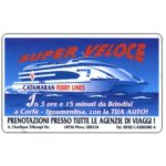 The Phonecard Shop: Italy, Catamaran Ferry Lines, L.50,000, Pikappa (Viacard)