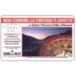 The Phonecard Shop: Italy, Casino de la Vallee, L.50,000, Pikappa (Viacard)