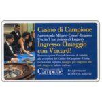The Phonecard Shop: Italy, Casinò di Campione, L.50,000, Technicard (Viacard)