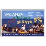 The Phonecard Shop: Italy, Vacanze italiane, L.50,000, Technicard (Viacard)