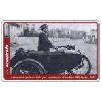 The Phonecard Shop: Italy, Cantoniere motociclista, L.50,000, Pikappa (Viacard)