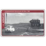 The Phonecard Shop: Italy, Completamento Autostrada del Sole, 1964, L.50,000, Pikappa (Viacard)